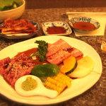 仙台牛焼肉 バリバリ - 青葉コース3800円♪