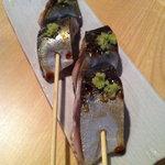 魚謙 - サバの串