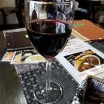 燻香廊 - 赤ワイン 480円