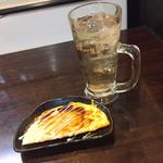 鶏太郎 - オムソバとハイボール