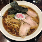 らーめん みずさわ - 料理写真:「生姜醤油ラーメン」700円
