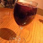 10292656 - 赤ワイン・・・ではなくて赤ぶどうジュース