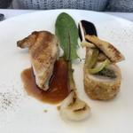 THIERRY MARX dining - 妻の鶏肉料理