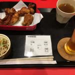 Karaageyatoriro - から揚げ食べ放題(MIX) & ウーロン茶
