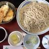そば紀 - 料理写真:「もりそばとハゼ野菜ミニ天丼のセット」980円+「そば大盛」320円(税込)