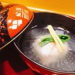味享 - お椀 蟹真薯