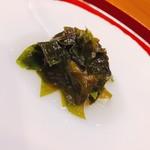 味享 - ワカメと赤貝の酢の物