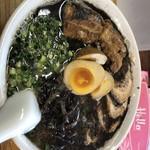 熊本らーめん 育元 - 熊本チャーシュー麺 味玉 ターロートッピング