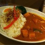 神南カリー - カボチャとサツマイモの秋野菜カリー