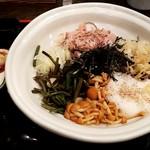 そじ坊 - 料理写真:冷し山菜とろろそば:770円