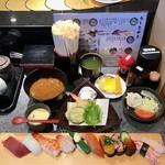 回転寿司 鮮 - 料理写真:Cランチ 1250円