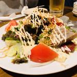 蔵元居酒屋 清龍 - 清龍サラダ