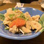 蔵元居酒屋 清龍 - 鶏皮