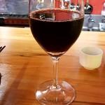 大衆焼き鳥酒場 やきとりさんきゅう - 赤ワイン:299円
