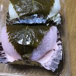 みよし乃製菓舗 - 桜餅 1個 138円