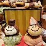 ハート・ブレッド・アンティーク - 料理写真:おひなさまパン