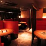 焼肉 炙屋武蔵 - リニューアルしたデートに最適のカップルシート