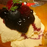 ふらのパティスリートロン - レアチーズケーキ