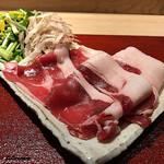 102937286 - 能登産の猪肉 シンタマと特上ロース