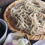 蕎遊庵 - 十割蕎麦大盛(950円)