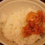 ビバ!スパゲティ  富士山 - 無料ライスと無料キムチ