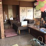 蕎遊庵 - 古民家風の店内