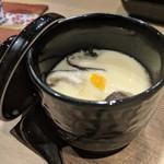 鎌倉 長谷 鮨山もと - 茶碗蒸し 蒸したてアツアツです