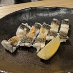鎌倉 長谷 鮨山もと - 穴子白焼き