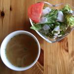 モグ カフェ - サラダとスープ