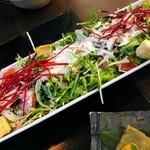 102945758 - 水菜のシーザーサラダ