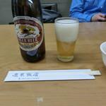 慶華飯店 - ビール500円