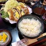 102947641 - オムレツチーズかつれつ膳 1,700円