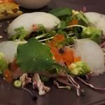 ミックス テイスト - 前菜のカルパッチョ