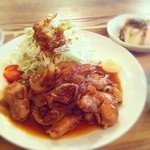 hang - 料理写真:鶏もものタレ焼き