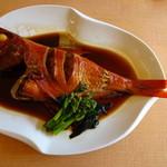 地魚回転寿司 丸藤 - 料理写真:金目鯛姿煮