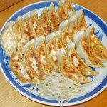 ビワの木 - 料理写真:がっつり系餃子