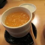 酒と肴 SUIGEI - 茶碗蒸し 季節のあんかけ
