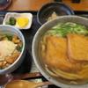 紅葉庵 - 料理写真:きつねうどん+日替わりミニ丼