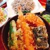 城山 - 料理写真:天丼と蕎麦のセット