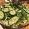 びっくり亭 - 料理写真:グリーンサラダ