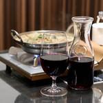 ワイン&焼酎 KURIKI 九州料理の店 - ワインはカラフェで♪