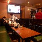 フレスコ - 店内奥のテーブル席