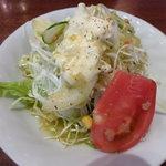 フレスコ - ランチにセットのサラダ