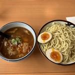 大輪 - 勝浦タンタンつけ麺(950円)