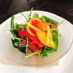 ロイクラトンリゾート - 彩り野菜のサラダ
