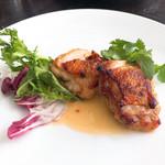 ロイクラトンリゾート - 鶏もも肉のオーブン焼き ガイヤーン風