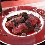 コントワール ミサゴ - しゃらん鴨赤ワインソース
