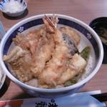 てんぷら 味覚 - おまかせ丼