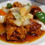 花筏 - 料理写真:スブタ定食1,350円。