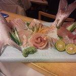 沼袋みなと - 料理写真:宴会用の刺身の盛り合わせ
